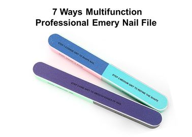 China Emery Material Disposable Nail Files Buffing Block For Nail Art Learner factory