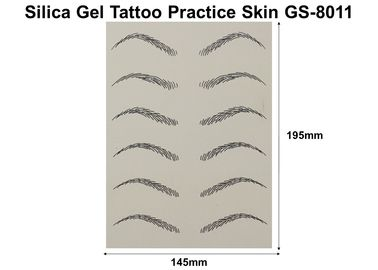 China Synthetic Artificial Tattoo Skin , Harmless Microblading Practice Skin factory