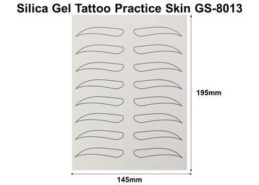 China High Flexible Tattoo Practise Skin , No Harm Eyebrow Practice Skin factory