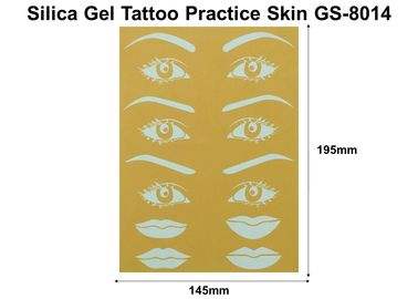 China No Poison Permanent Makeup Accessories , 100 Pieces Tattoo Training Skin factory