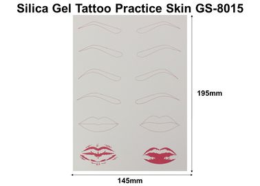 China Silica Silicone Tattoo Practice Skin Disposable For Gel Professional Beginner factory