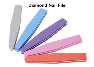 China Diamond Disposable Nail Files 178mm Color Buffer Block Multifunction Professional factory