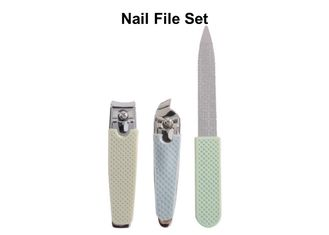 China Multifunction Cushioned Nail File , Durable Carbon Steel Finger Nail Files factory