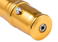 Golden Cosmetic Tattoo Machine Stainless Steel Electric Semi Permanent